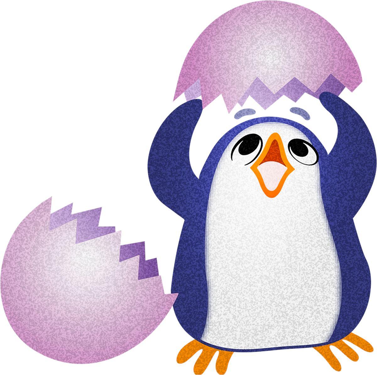 Adesivi murali pinguino neonato leostickers for Planner cameretta
